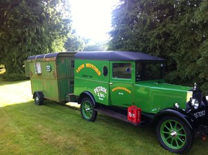 1929 Historic Vehicle; an old Morris Cowley Goods Van