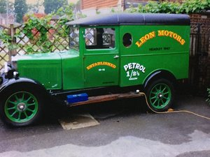 1929 Historic Vehicle; an old Morris Cowley Goods Van For Sale