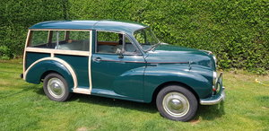 1958 Series III Morris Minor Traveller.