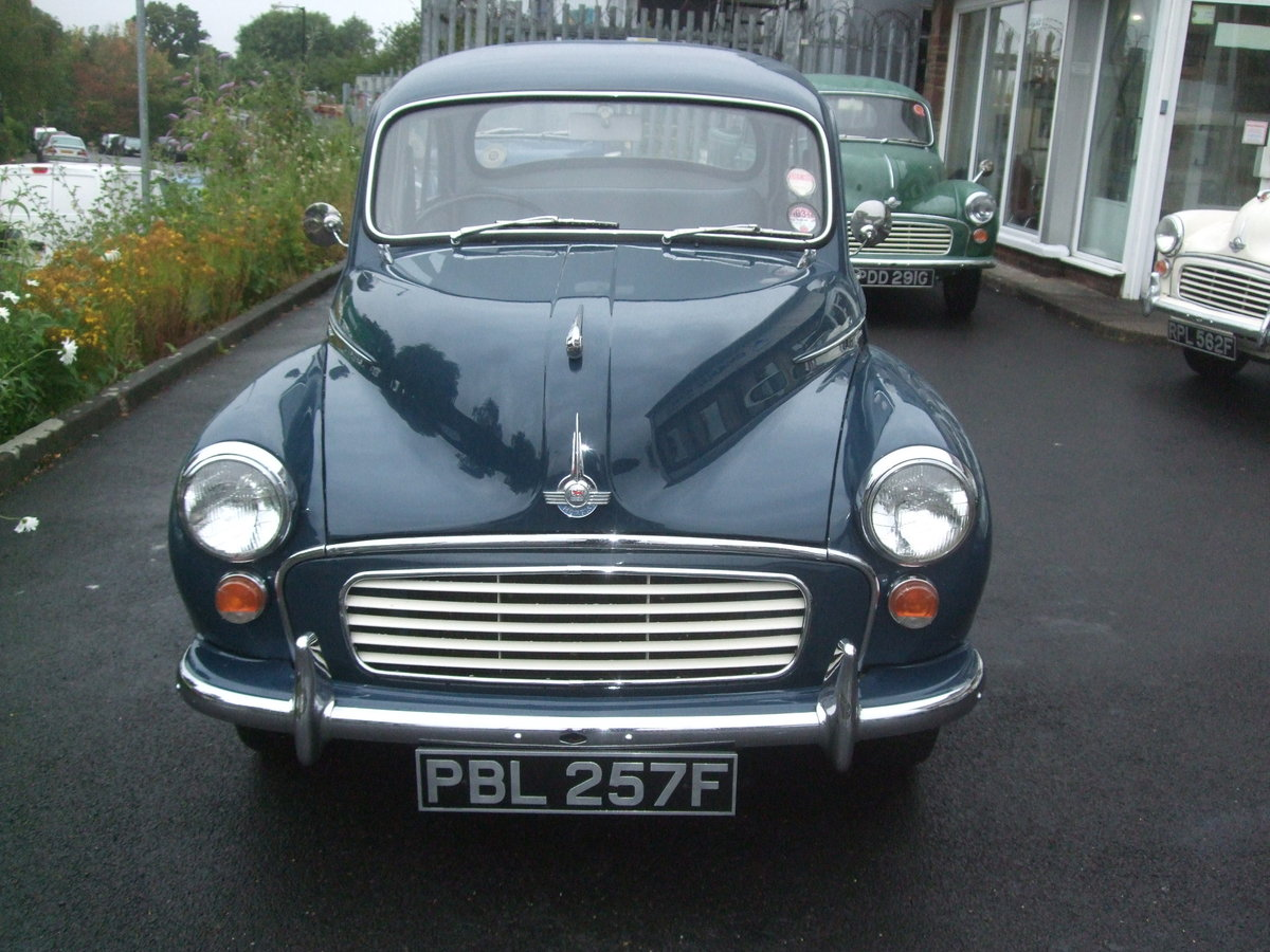 EXCEPTIONAL 1968 TRAFALGAR BLUE 4 DOOR SALOON For Sale (picture 2 of 6)