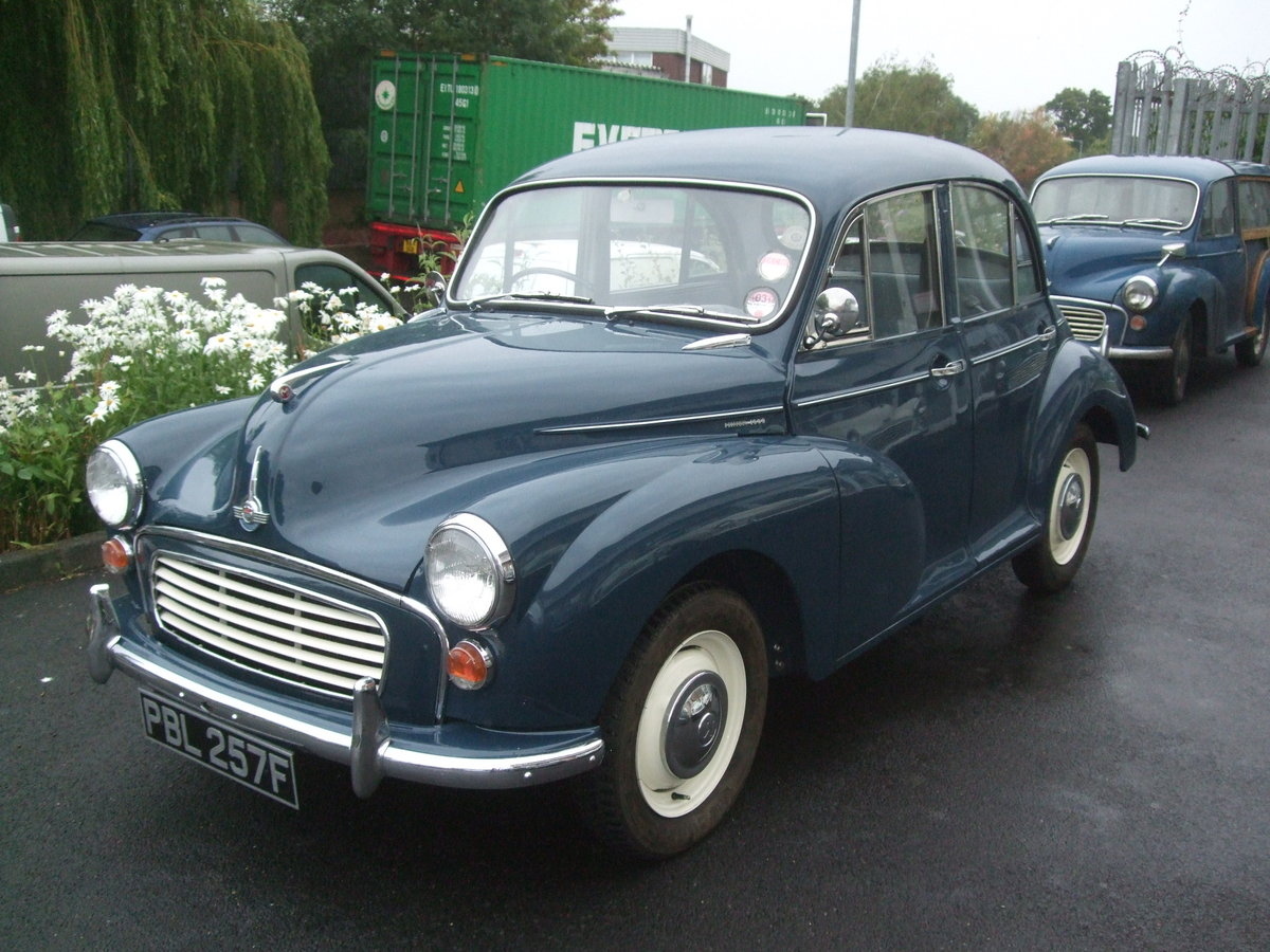 EXCEPTIONAL 1968 TRAFALGAR BLUE 4 DOOR SALOON For Sale (picture 3 of 6)