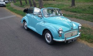 1966 Morris minor convertible factory left or right