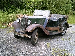 1938 Morris 8 Series Four seater tourer