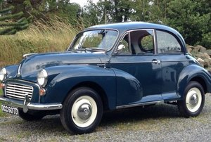 1966 Morris Minor 1000 For Sale by Auction
