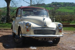 1966 Morris Minor Factory Convertible  For Sale