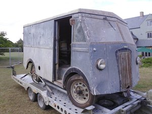 Barn Find Morris PV Van (Black Mariah) registered 1951 SOLD