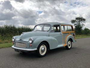 1965 Morris Minor Traveller 1098cc SOLD