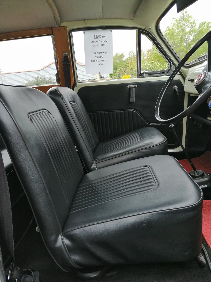 1970 For Sale : Morris Traveller SOLD (picture 6 of 6)