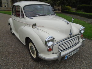 1967 Morris Minor 1000 2 door. For Sale