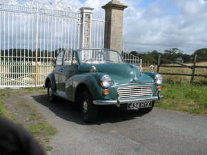 1955 Morris Minor factory Convertible SOLD