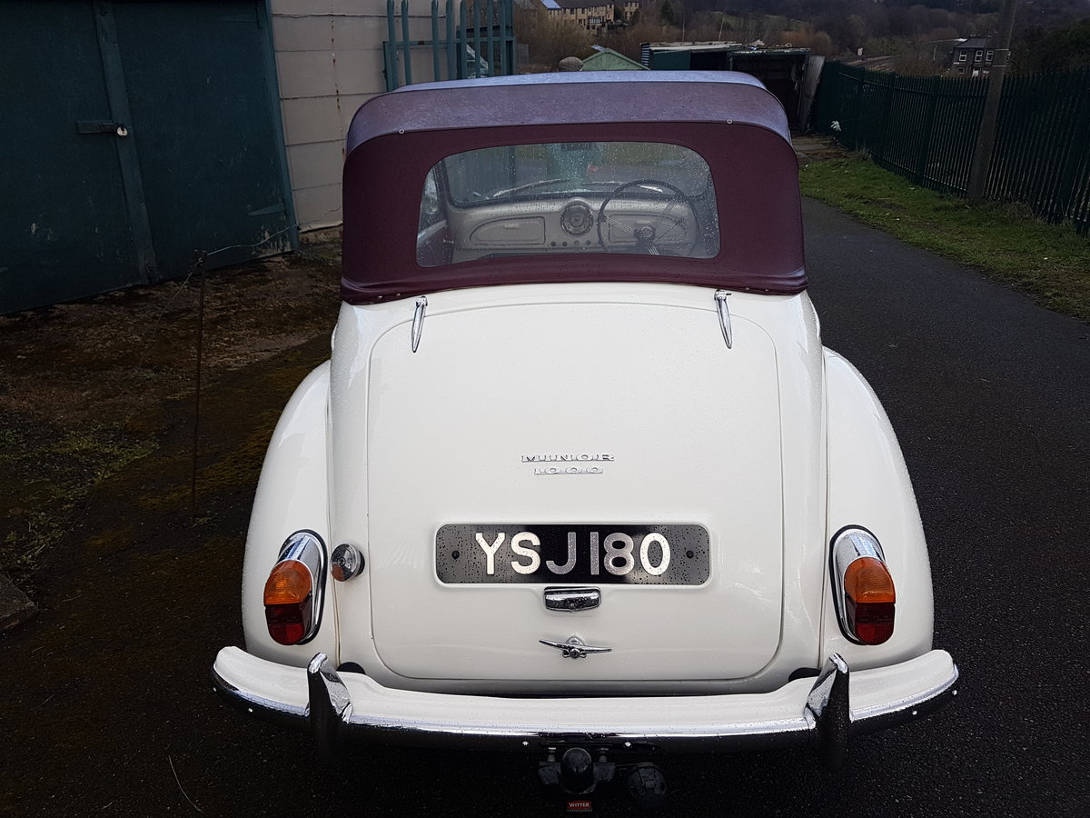 1962 Morris Minor  Convertible For Sale (picture 2 of 4)