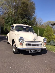 1969 Morris Minor 2 door saloon