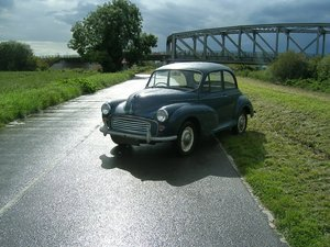 1964 Morris Minor 1000 Historic Vehicle Restoration For Sale