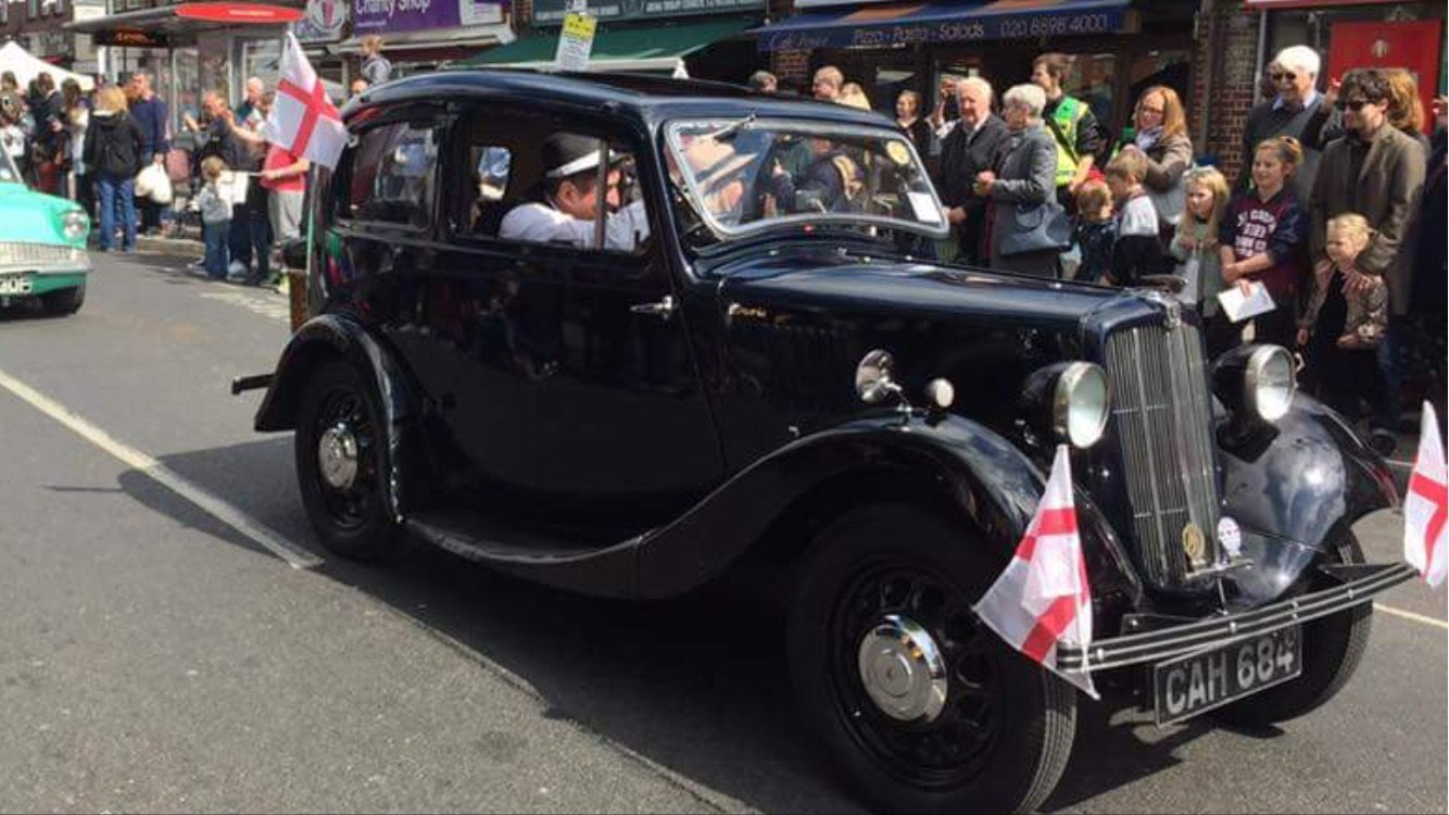 1937 Morris 8 series 2 Saloon very good condition £7950 For Sale (picture 3 of 6)