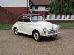 1958 Morris Minor 1000 Convertible at ACA 24th August