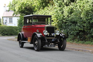 1927 Morris Oxford Doctors Coupe - £12k recently spent