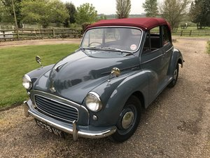 1957 Morris Minor Convertible For Sale