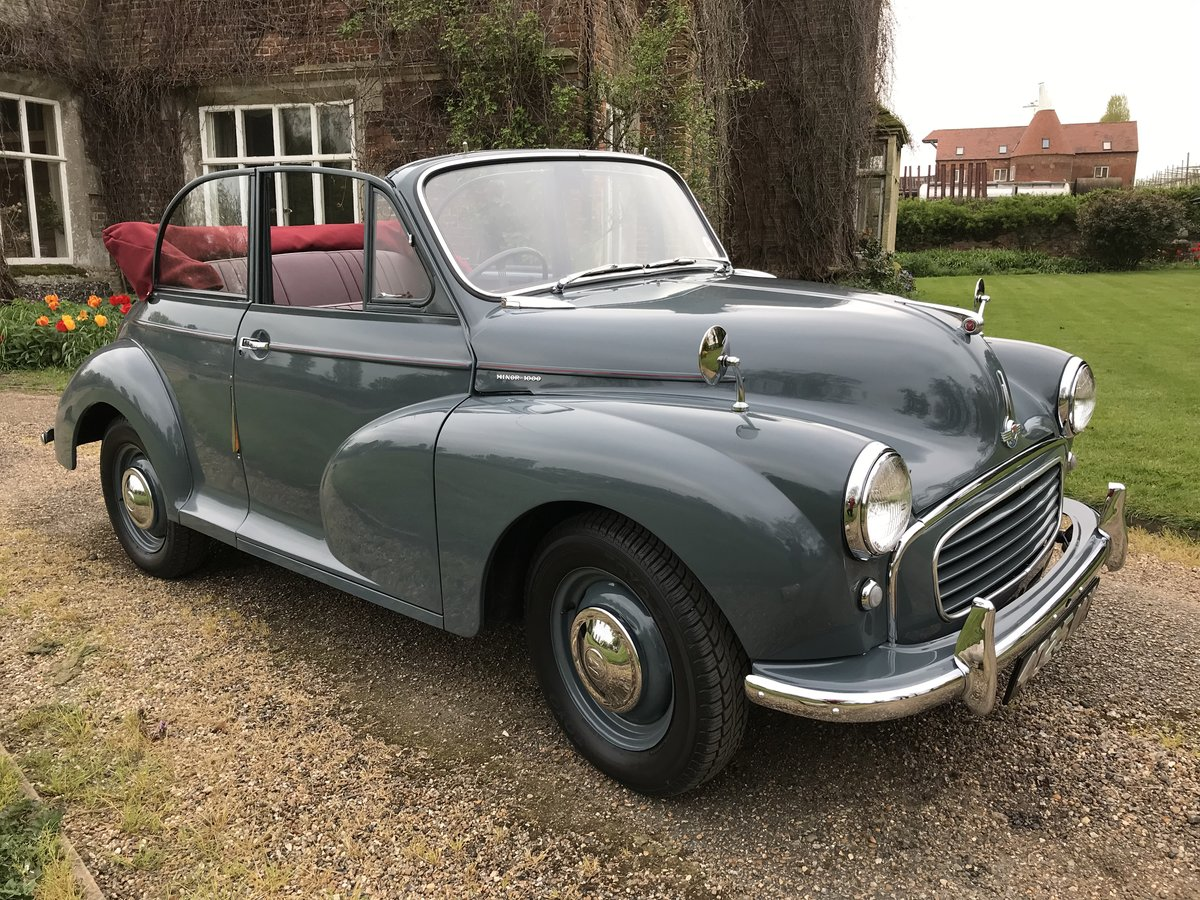 1957 Morris Minor Convertible For Sale (picture 2 of 6)