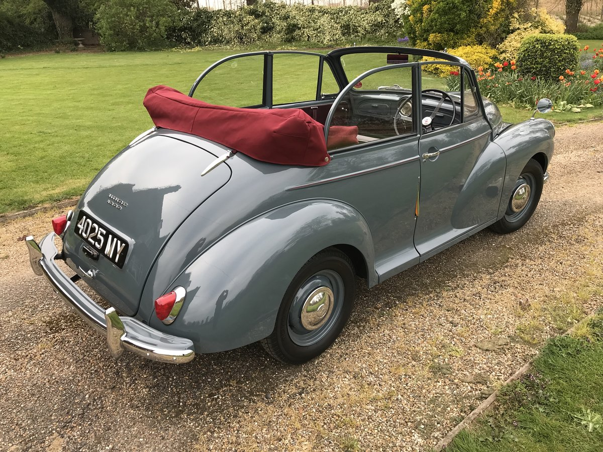 1957 Morris Minor Convertible For Sale (picture 3 of 6)