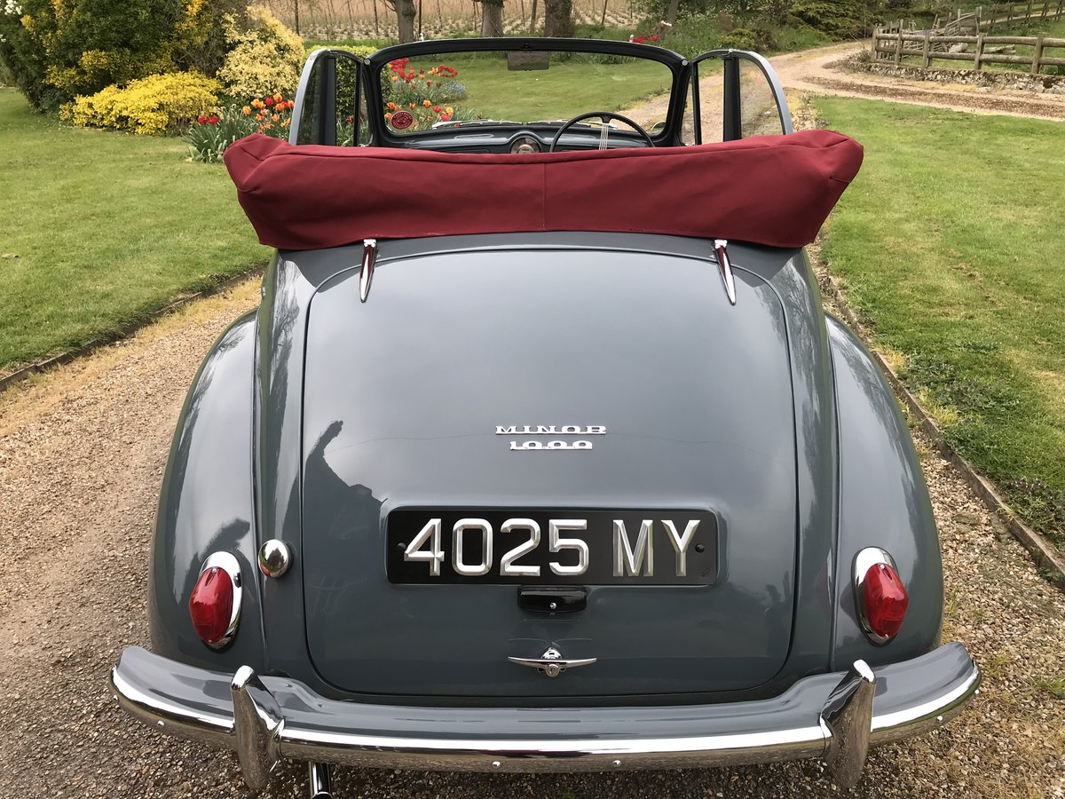 1957 Morris Minor Convertible For Sale (picture 4 of 6)