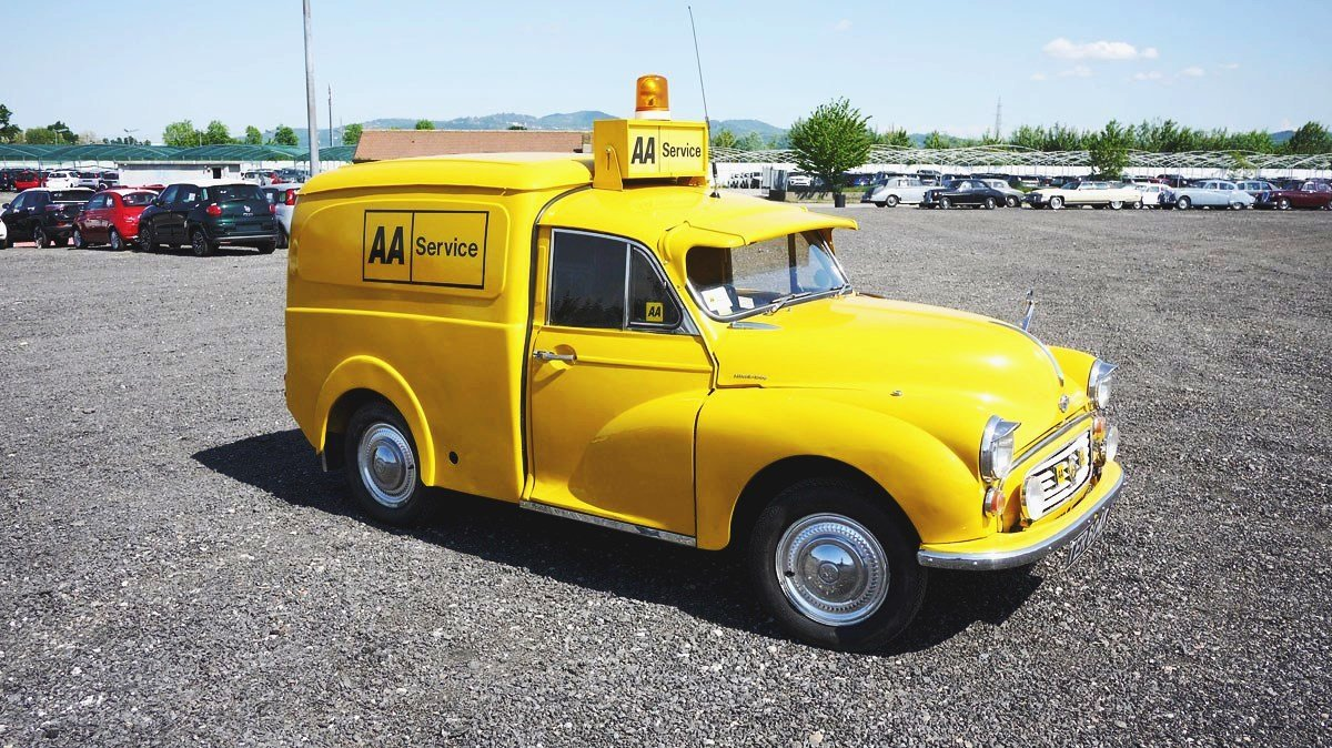 MORRIS MINOR AA 1973  BREAKDOWN  RECOVERY  VEICLE For Sale (picture 4 of 6)