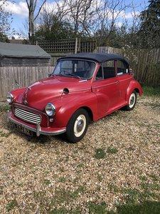 1961 Morris Minor Convertible Genuine
