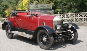 1926 MORRIS OXFORD 13.9HP TWO-SEATER PLUS DICKEY