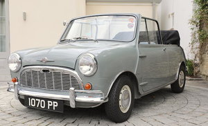 1964 MORRIS MINI SPRINT CONVERTIBLE For Sale by Auction