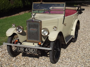 1929 Morris Minor OHC Tourer For Sale