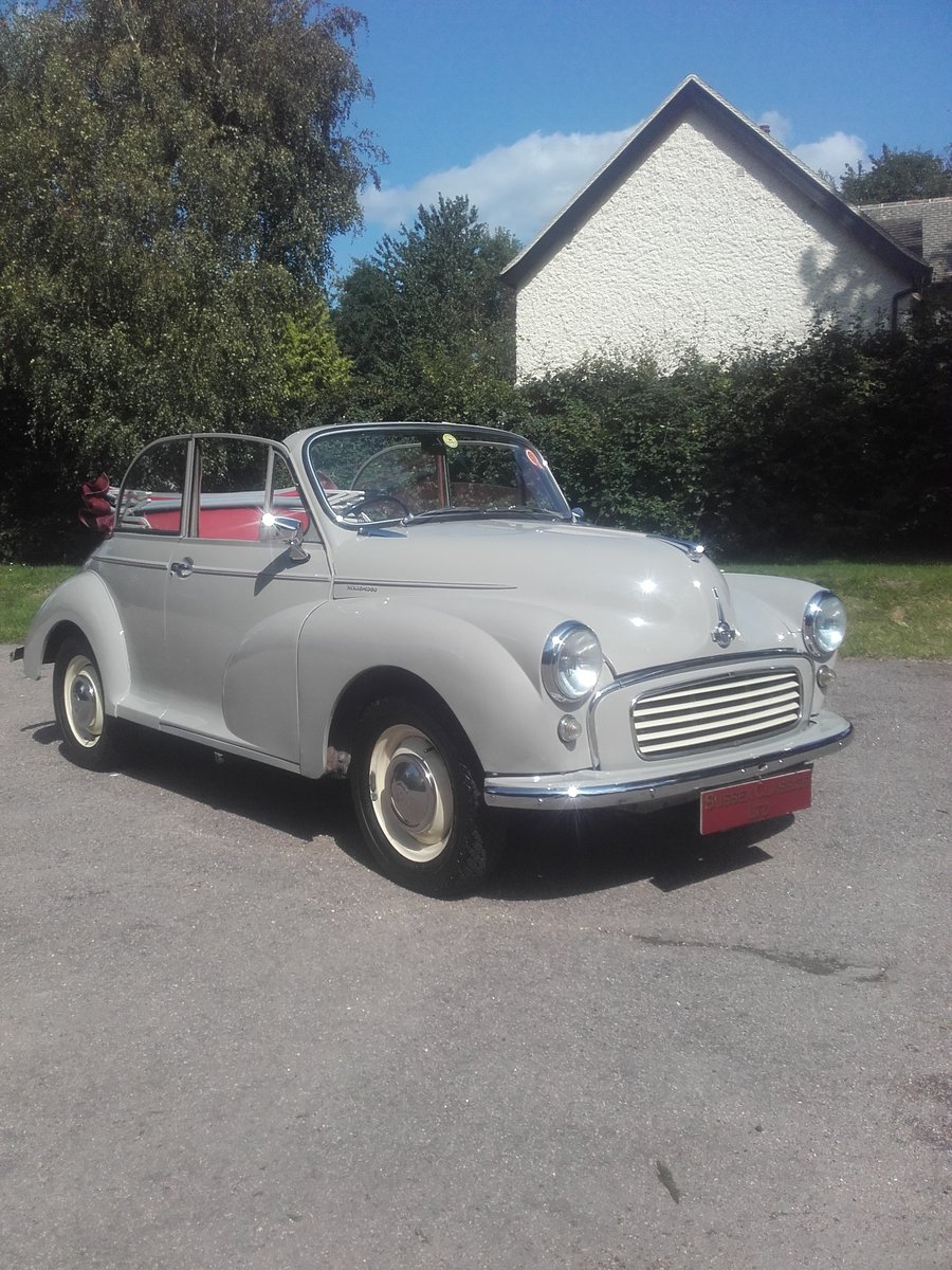 1963 Morris Minor Convertible (Card Payments Accepted) SOLD (picture 1 of 6)
