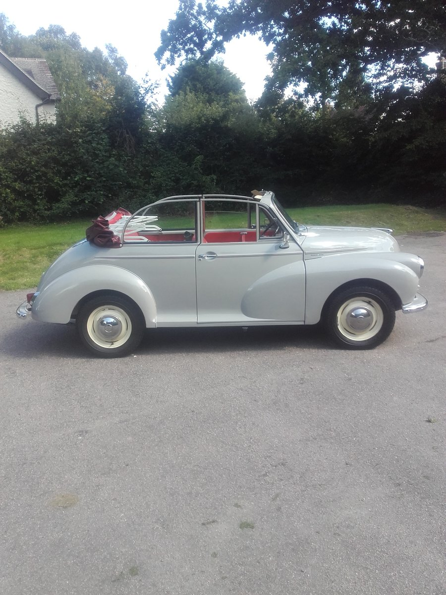 1963 Morris Minor Convertible (Card Payments Accepted) SOLD (picture 2 of 6)
