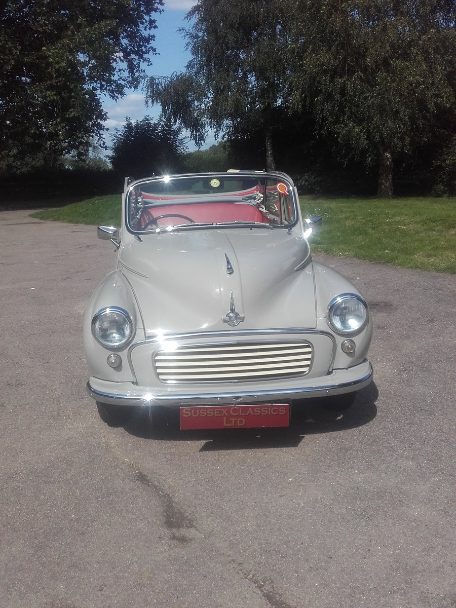 1963 Morris Minor Convertible (Card Payments Accepted) SOLD (picture 3 of 6)