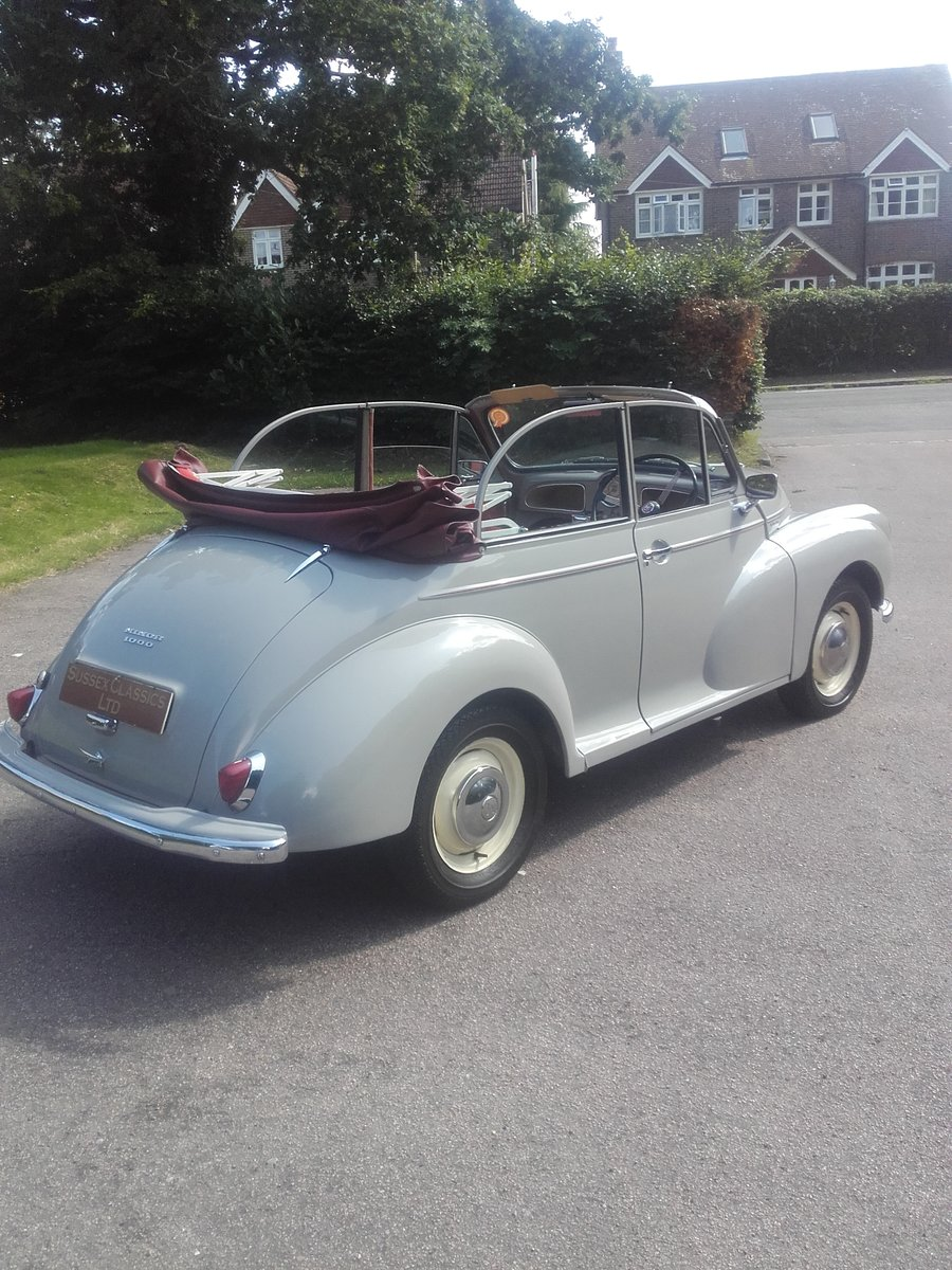 1963 Morris Minor Convertible (Card Payments Accepted) SOLD (picture 4 of 6)