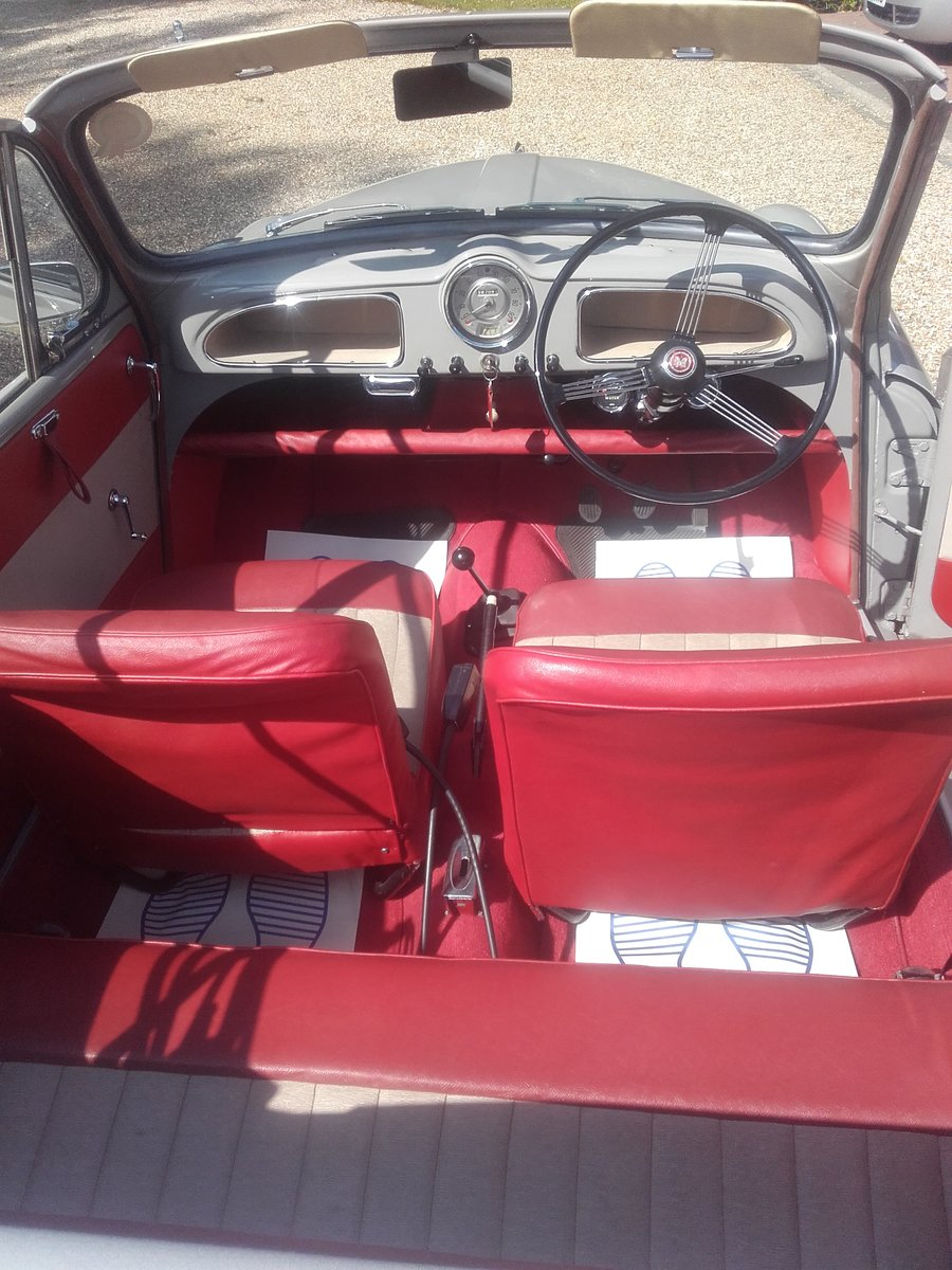 1963 Morris Minor Convertible (Card Payments Accepted) SOLD (picture 6 of 6)