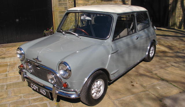 1964 MORRIS MINI COOPER 970 S 'TAURUS' SPORTS SALOON For Sale by Auction (picture 1 of 1)