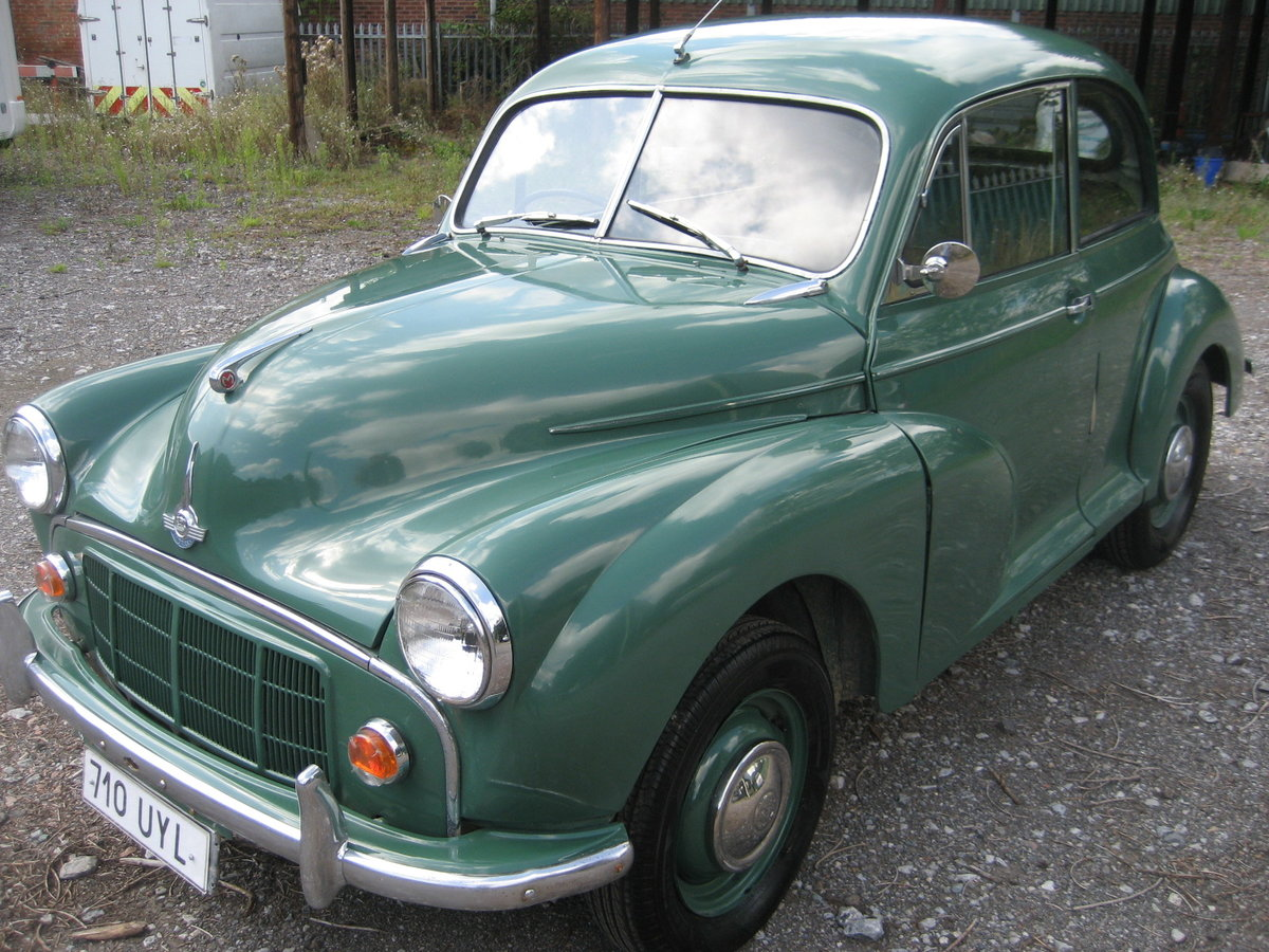 1954 Morris Minor Split Screen For Sale (picture 2 of 6)