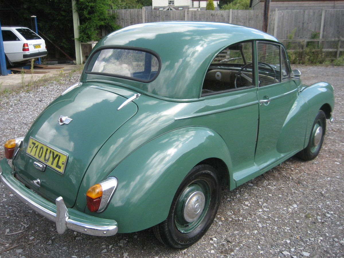 1954 Morris Minor Split Screen For Sale (picture 4 of 6)
