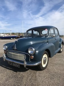 Morris Minor. For Sale or Swap for Triumph Herald