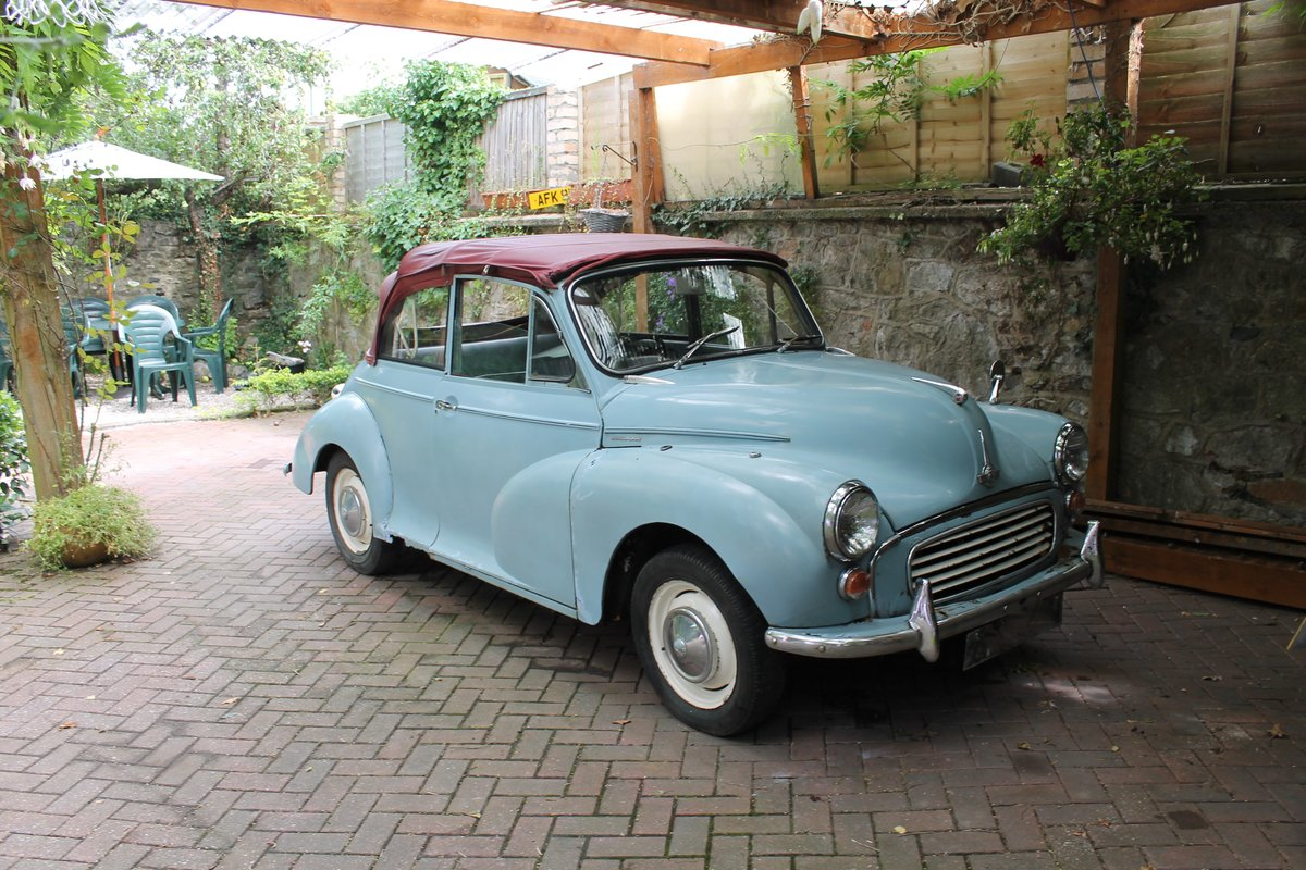 1963 MORRIS MINOR CONVERTIBLE ,Chassis mat Wanted (picture 1 of 6)