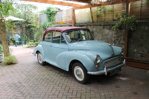 1963 MORRIS MINOR CONVERTIBLE ,Chassis mat