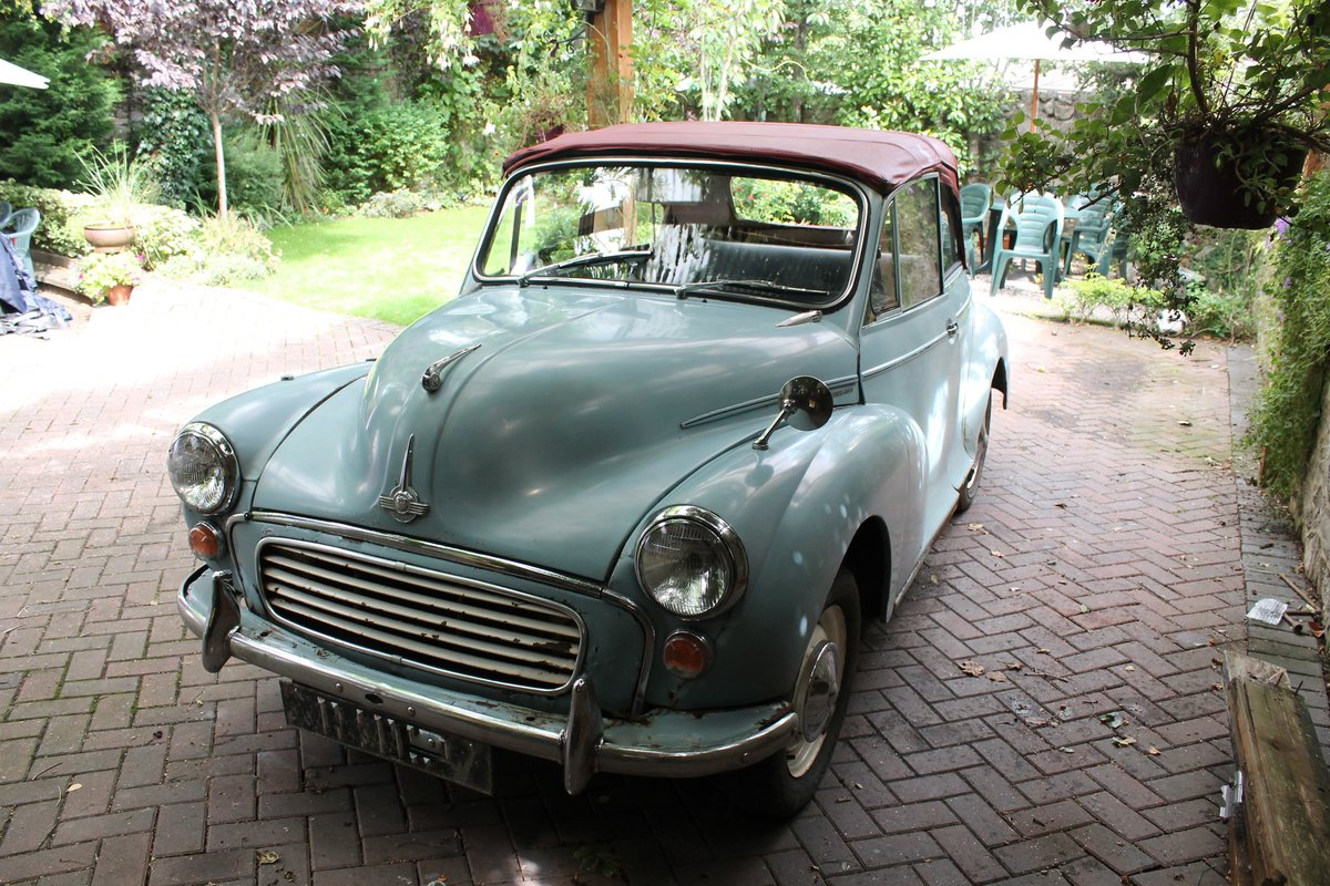 1963 MORRIS MINOR CONVERTIBLE ,Chassis mat Wanted (picture 2 of 6)