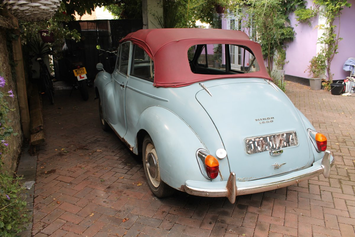 1963 MORRIS MINOR CONVERTIBLE ,Chassis mat Wanted (picture 3 of 6)