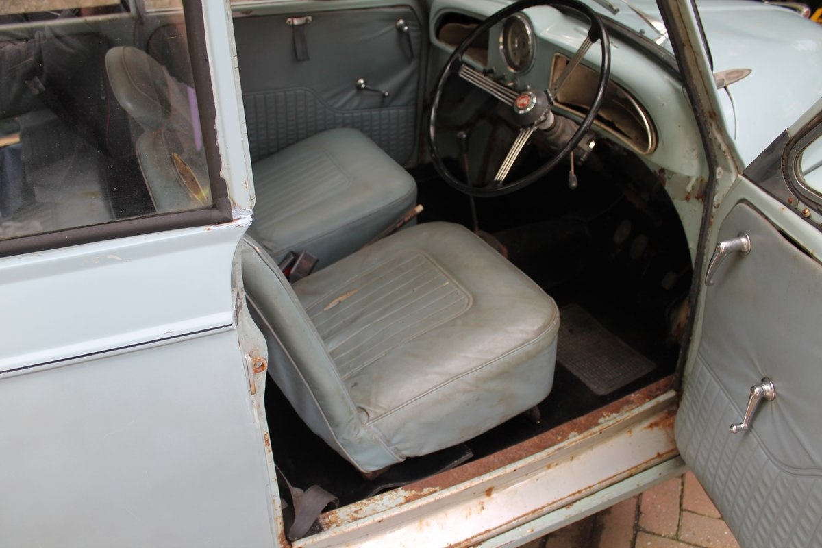 1963 MORRIS MINOR CONVERTIBLE ,Chassis mat Wanted (picture 5 of 6)