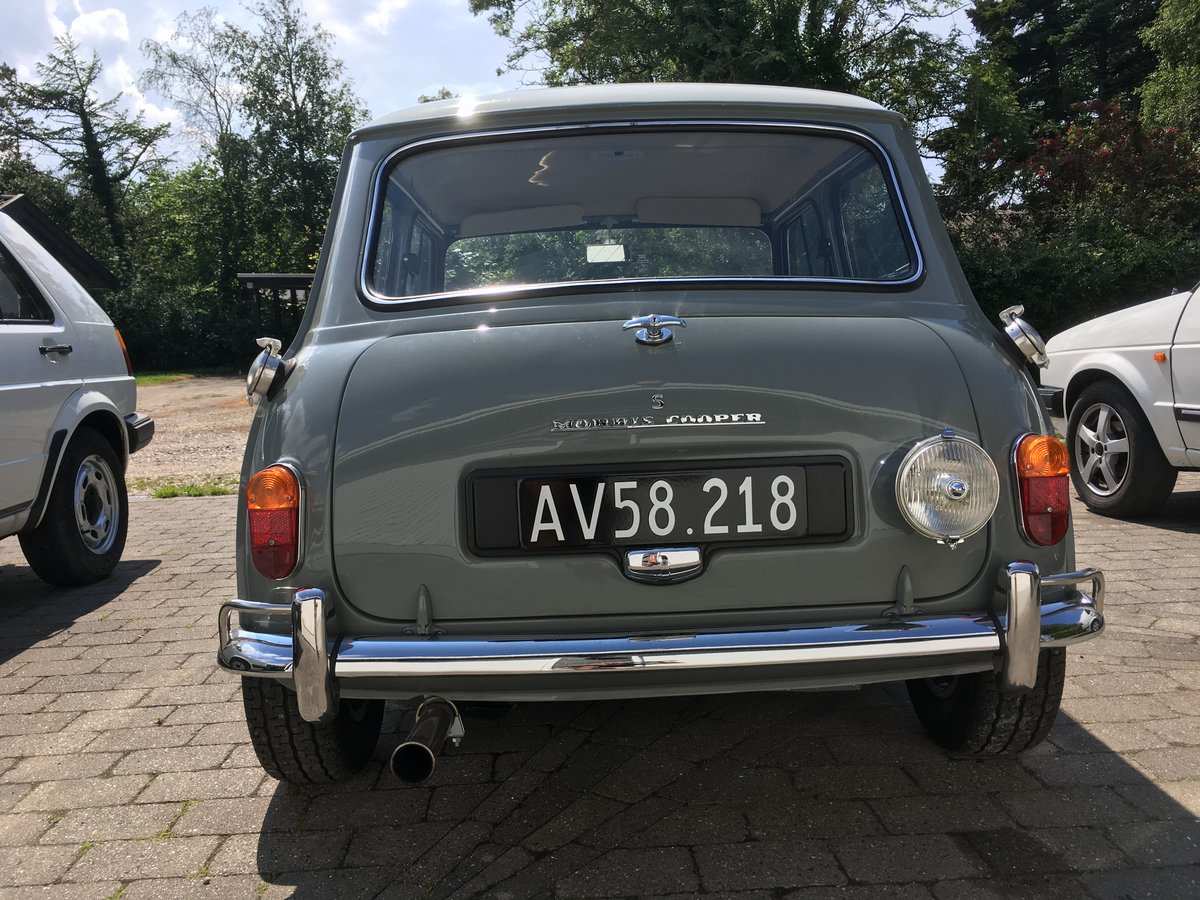 1964 Mini Cooper S Rare model with all equipment  For Sale (picture 2 of 6)