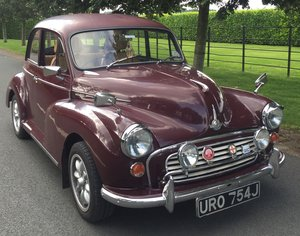 1971 MORRIS MINOR SALOON; DRIVEN DAILY For Sale