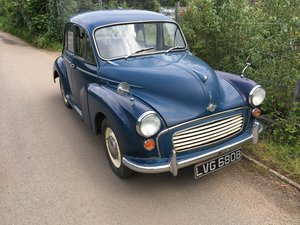 1965 Morris Minor 1000 Deluxe For Sale