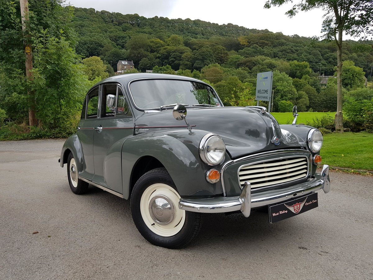 1961 Very good quality Minor 4 door saloon, a must see example! For Sale (picture 1 of 6)