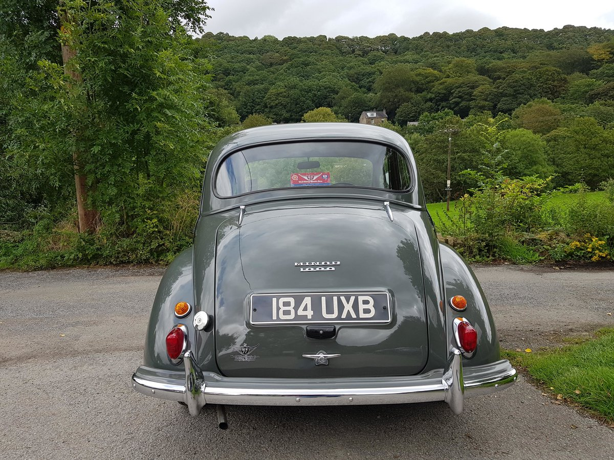 1961 Very good quality Minor 4 door saloon, a must see example! For Sale (picture 3 of 6)