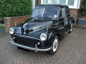1954 Morris Minor S2 Split Screen  SOLD