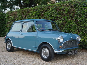 1959 MORRIS MINI MINOR DELUXE SALOON For Sale by Auction